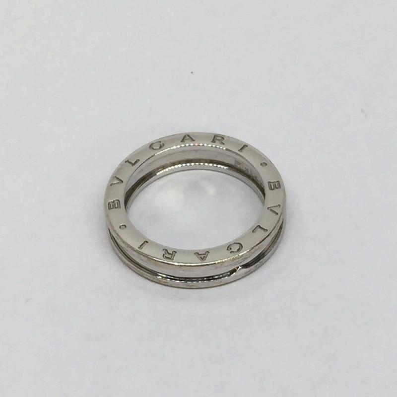 BVLGARI ブルガリ B-zero1 ビーゼロワン リング K18WG 750 ホワイトゴールド 指輪 #57 16.5号 6.9g アクセサリー ジュエリー 管理EM9823