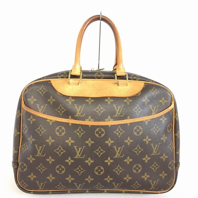 LOUIS VUITTON Louis Vuitton M47270 Deauville monogram Lady s gym bag type  ミニボストンハンドバッグバニティバッグ management YI9913