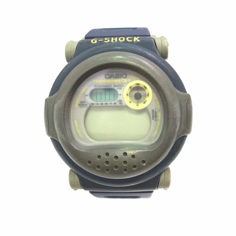 G-SHOCK DW-001 1211 Gショック ジェイソン 青 ブルー 中古 使用頻度少ない 腕時計 カシオ CASIO レア ネグザクス 青目 管理EM7828