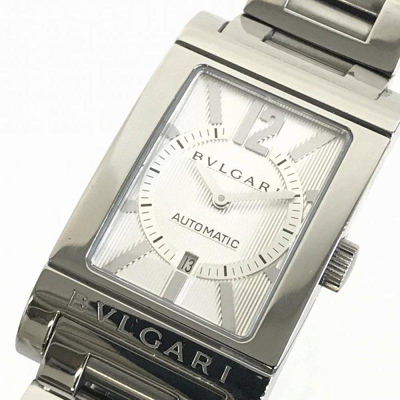 BVLGARI/ブルガリ レッタンゴロ RT45S 自動巻きメンズ腕時計 デイト 動作品 管理YO12480