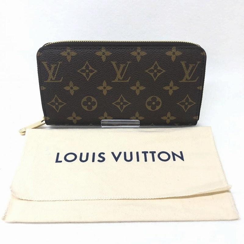 特上品 LOUIS VUITTON ルイ・ヴィトン M41895 ジッピーウォレット フューシャ モノグラム ラウンドファスナー 長財布 管理RM12899
