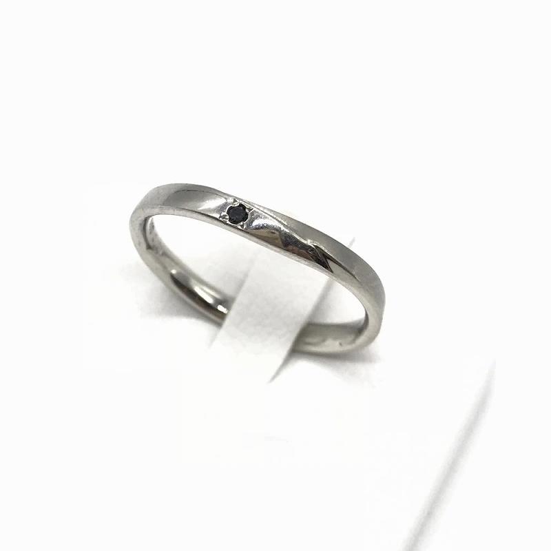 ジュエリー アクセサリー リング 指輪 プラチナ pt900 3.6g 中古 サイズ15号 メンズ 男性小物 管理RT13297
