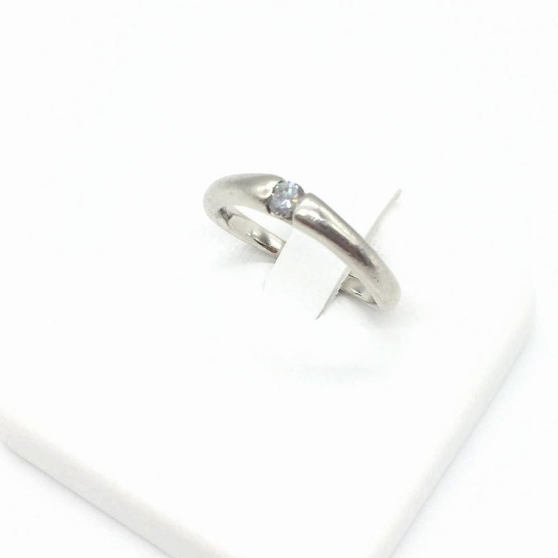 ジュエリー アクセサリー リング 指輪 プラチナ PT1000 3.7g 中古 レディース 女性小物 サイズ7.5号 管理RT14175