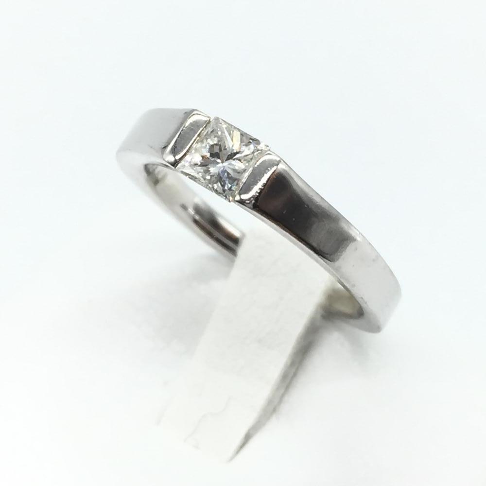 ジュエリー アクセサリー リング 指輪 プラチナ ダイヤモンド pt900 5.5g D0.357ct サイズ10号 中古 貴金属 レディース 管理RT15160