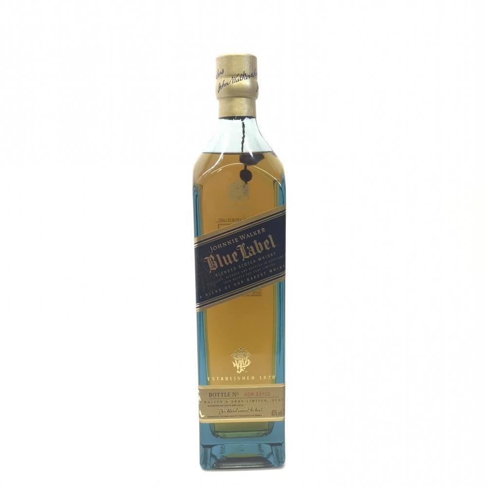 JOHNNIE WALKER ジョニーウォーカー ブルーラベル スコッチ ウイスキー 容量750ml アルコール度数40% 未開封 箱 中古 管理HS17972