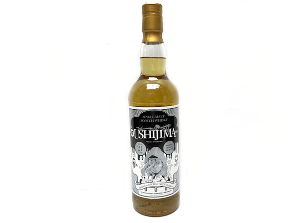 【新品】シングルモルトウイスキー インチガワー 1997 闇金ウシジマくんラベル 完結記念ボトル 52.2度/700ml