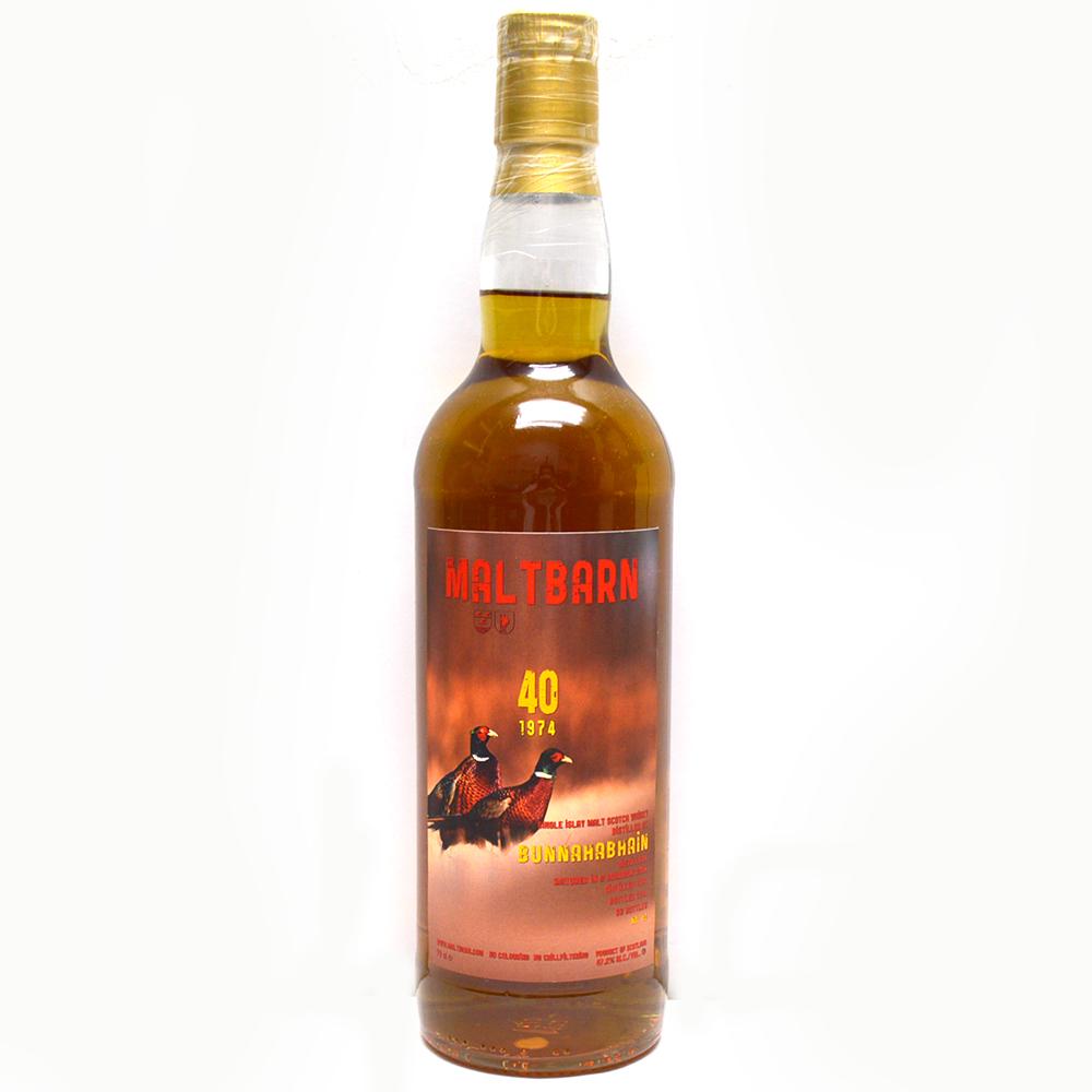 【未開栓】MALT BARN【モルトバーン】シングルモルトスコッチウイスキー ブナハーブン 1974 古酒 47度/700ml