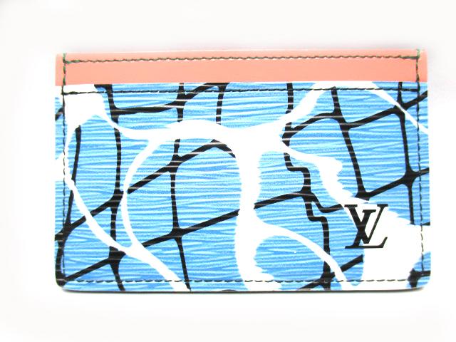 ★USED A★質屋かんてい局伯楽三軒茶屋店 三軒茶屋駅世田谷通り口から徒歩20秒★ LOUIS VUITTON(ルイヴィトン)エピ ポルト・カルト・サーンプル M61653 カードケース  メンズ レディース【中古】