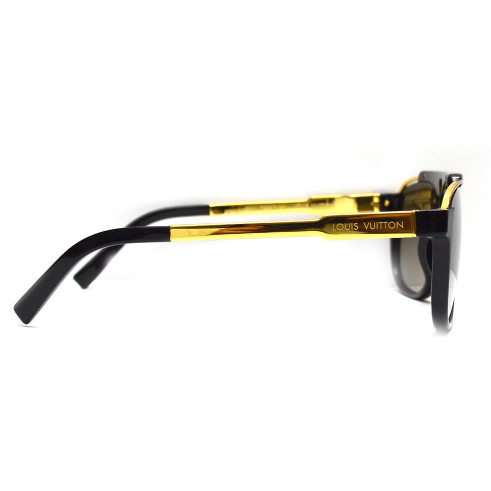LOUIS VUITTON ルイヴィトン サングラス Z0936E ブラック ゴールド メンズ レディースL3qAR45j