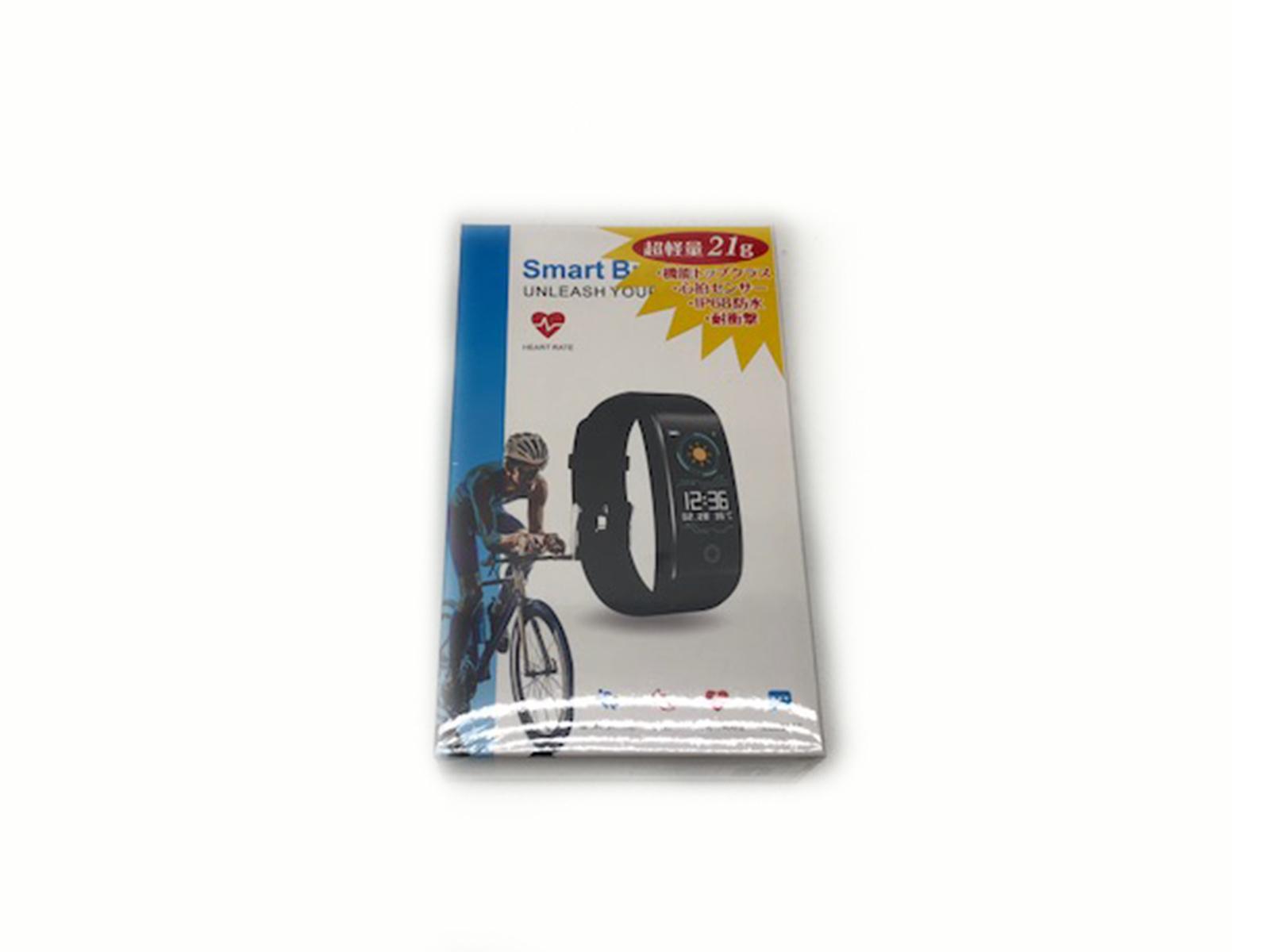 Smart Bracelet(スマートブレスレット)FBW99S6 ヘルスケアバンド活動計 IP68防水 メンズ【未使用】