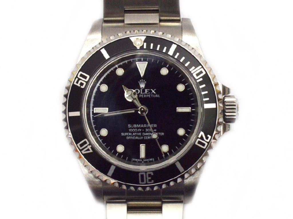 ROLEX【ロレックス】サブマリーナ 14060M オートマ G番 生産終了モデル メンズ腕時計【中古】