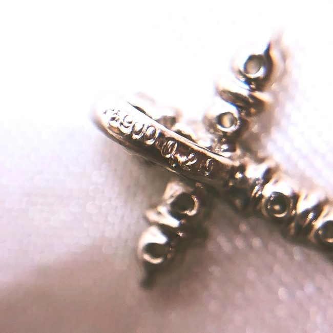 キャッシュレス5%還元中|PT900 クロス ダイヤモンドネックレス MD0 20ct 約0 6g 十字架 レディース 女性 ノ-ブランドジュエリー お花 プラチナ 高級 綺麗h 4月誕生石 春 ホワイトデー 入学 卒業 祝いhrtsxBoQdC