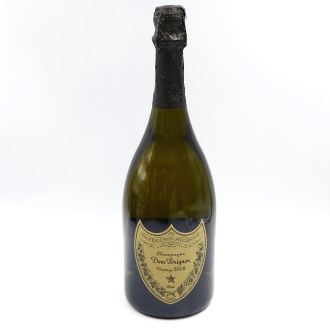 キャッシュレス5%還元中|【古酒】ドンペリニヨン 2008 白 シャンパン フランス 750ml  高級酒 スパークリングワイン モエ・エ・シャンドン プレゼント ギフト【中古】春 入学 卒業 祝い ホワイトデー