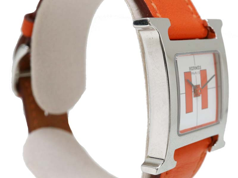 release date 8eb7e b713a 期間限定特別価格 HERMES【エルメス】 HH1.210 Hウォッチ 銀座 ...