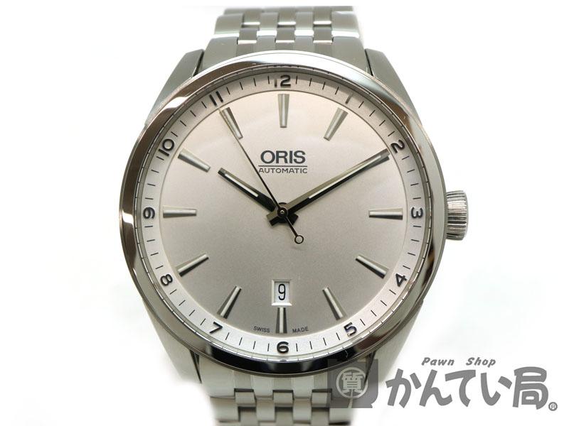 USED-9 かんてい局茜部店 腕時計 a18-2289 ステンレス ORIS ARTIX 質屋 メンズ 自動巻き アーティックス 7642-40 【中古】 【オリス】