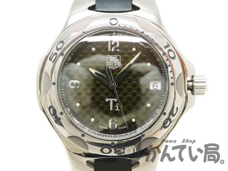 TAG-HEUER【タグホイヤー】 WL1180.FT6000 キリウム クオーツ ダイバー チタン メンズ 腕時計 【中古】 質屋 かんてい局茜部店 a18-4002 USED-6