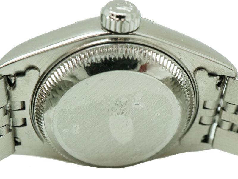 ROLEX【ロレックス】79174デイトジャストY番自動巻きSSK18WGレディースホワイトローマ腕時計USED-9【】質屋かんてい局茜部店a18-4083