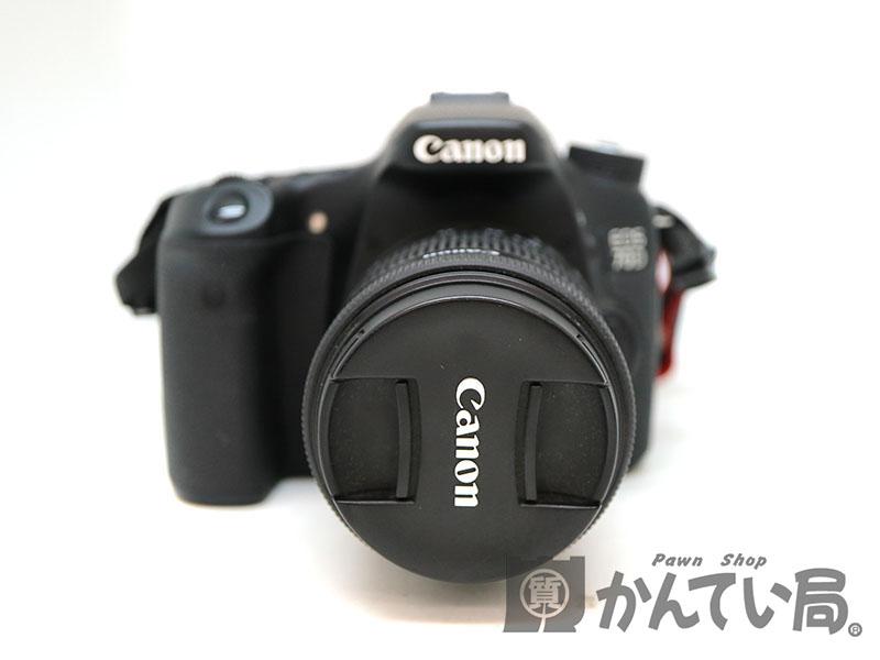 CANON【キャノン】 EOS70D Wズームキット デジタル一眼レフカメラ USED-7【中古】 a18-6730 質屋 かんてい局茜部店