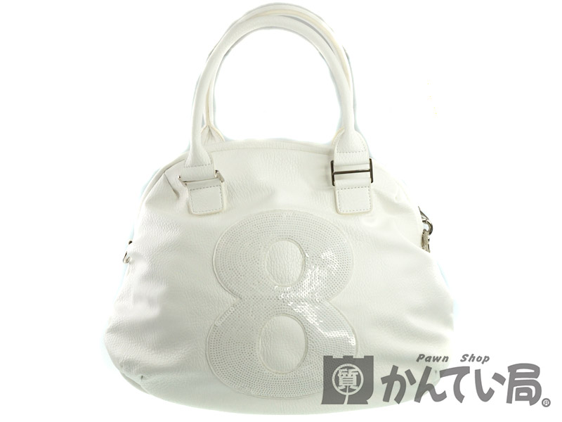 ffad6221ed03 muta【ムータ】 MUBG-No.8 オンライン ホワイト系 トートバッグ 合皮 ...