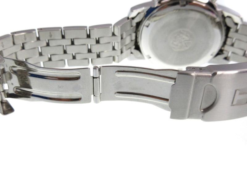 TISSOT ティソ T362 462K ステンレススチール デイト表示 クオーツ 電池式 メンズ 腕時計 電池交換済みUSEDXZPkuOiT