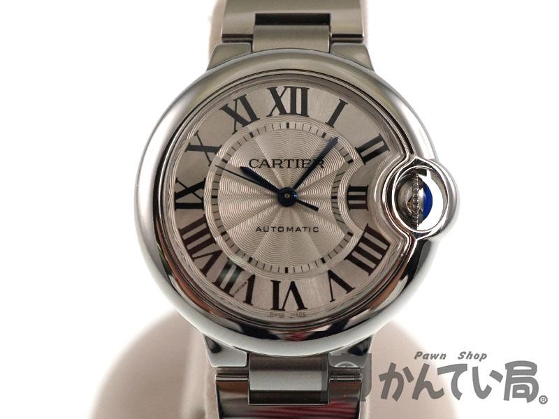 Cartier(カルティエ)W6920071 バロンブルー ドゥ カルティエ MM SS(ステンレススチール)腕時計 レディース/ユニセックス(ボーイズ)/メンズ 自動巻き オーバーホール/仕上げ済み【中古】 USED-SA【9】 質屋 かんてい局春日井店 k18-2154