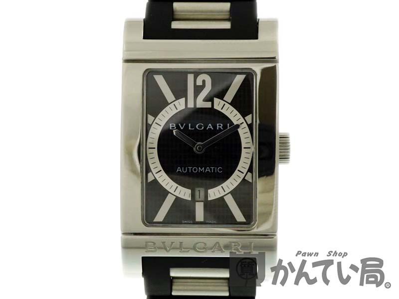 BVLGARI【ブルガリ】 RT45S レッタンゴロ 自動巻き ステンレス メンズ レディース 腕時計 【中古】 質屋 かんてい局春日井店 k19-2082
