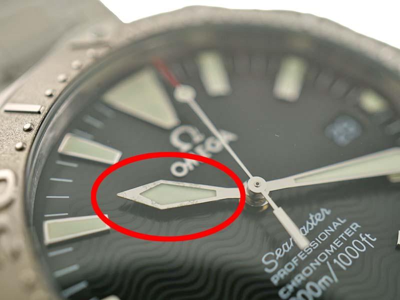 OMEGA オメガ2230 50 シーマスター300 プロフェッショナル K18WG 18金 ホワイトゴールド 自動巻き ブラック メンズ 腕時計 USED 9 質屋かんてい局春日井店 k3100005928900001iPZkXu