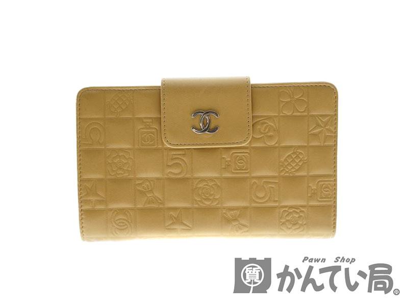 the latest a87de 48d85 CHANEL【シャネル】A24213 ガマグチ付財布 オンライン 長財布 ...