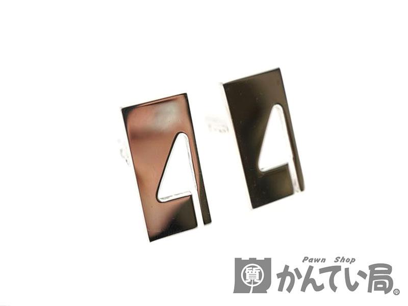 GUCCI【グッチ】カフス スーツ ファッション ブランド アクセサリー SV925 シルバー 銀 メンズ【中古】USED-8 質屋かんてい局北名古屋店 n19-1116