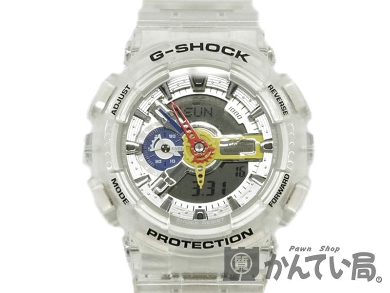 CASIO 【カシオ】 GA-110FRG-7AJR G-SHOCK A$AP Ferg コラボ 腕時計 メンズ USED-10 【中古】 h19-1282 質屋かんてい局細畑店