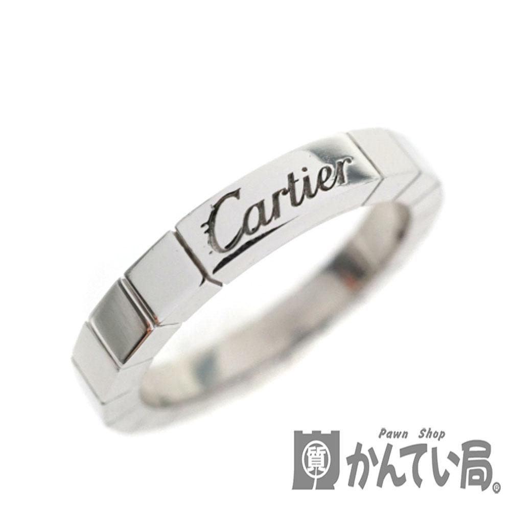 【新品仕上げ済み】Cartier【カルティエ】 ラニエールリング 約11号 ホワイトゴールド K18WG 指輪 レディース 【中古】USED-9 質屋 かんてい局細畑店 h2000332