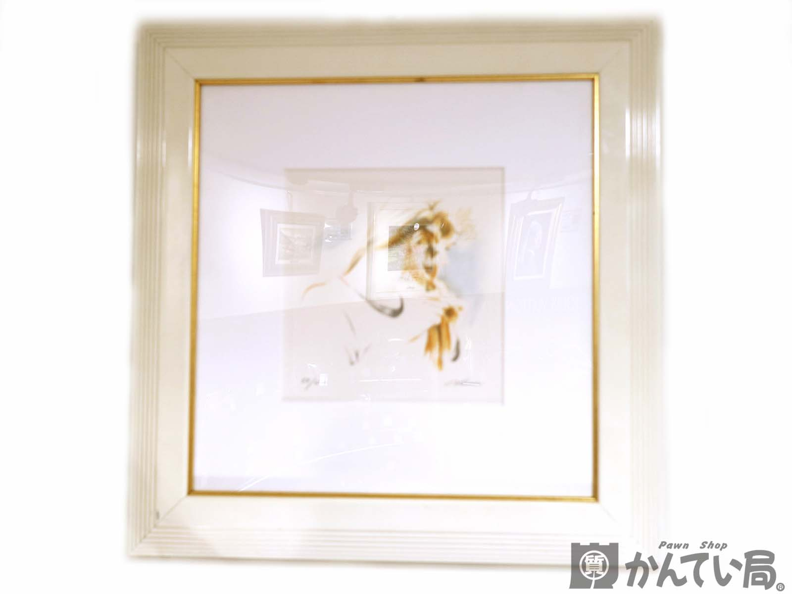 チェイス・チェン ブレイディング ウィズ ハー ヘア シルクスクリーン 絵画 版画 【中古】 USED-6 質屋 かんてい局北名古屋店 n18-6325
