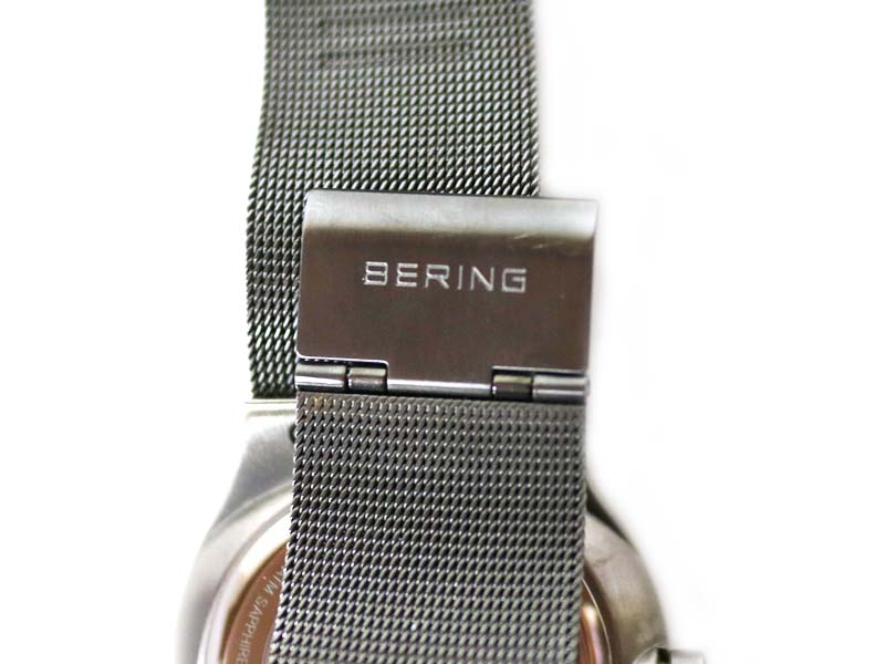 BERING Bering 1440-077 solar quartz watch men USED-A pawnshop かんてい station Komaki shop c17-585
