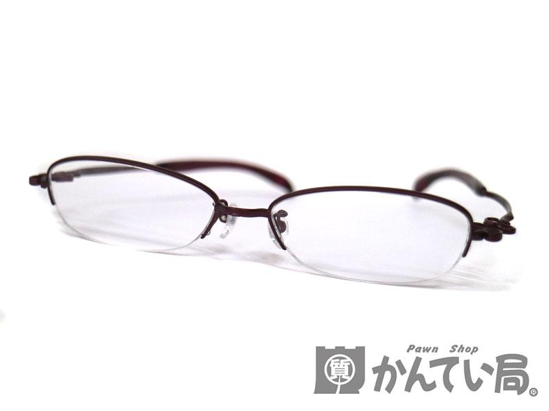 2f49092f941c1 999.9【フォーナインズ】S-702Tクリアレンズメガネサングラス透明伊達めがね眼鏡レディース