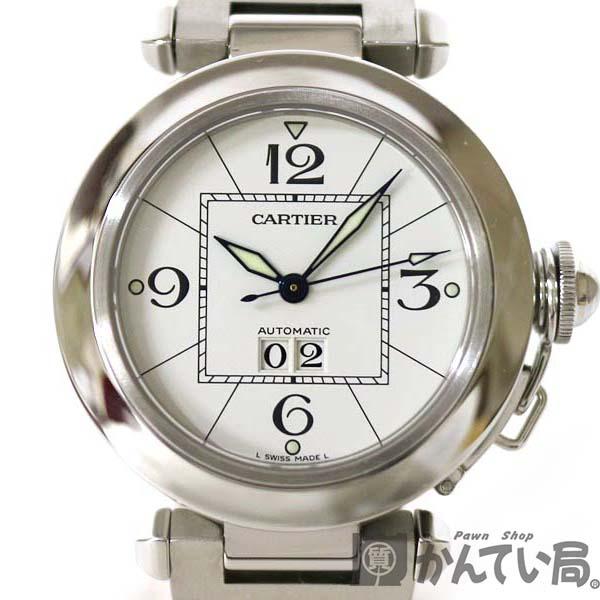 Cartier【カルティエ】 W31055M7 パシャC ビッグデイト ステンレススチール 自動巻 ボーイズ 男女兼用 腕時計 ステンレススチール 【中古】 質屋 かんてい局小牧店 c3100110928500001 USED-9