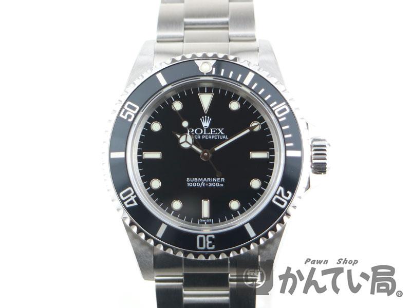 ROLEX 【ロレックス】 14060 サブマリーナー U番 ブラック ダイバーズ 腕時計 メンズ 自動巻き【中古】USED かんてい局小牧店 c19-1807