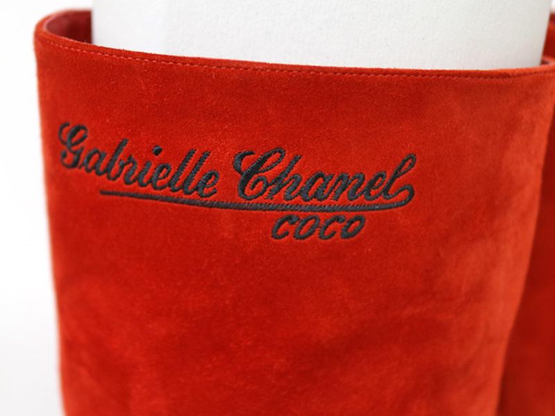 CHANEL【シャネル】G33119 ブーツ 赤×黒 レッド×ブラック サイズ:37 23.5cm ヒール:8.5cm 筒丈:23.5cm レディース  質屋 かんてい局 小牧店 c18-6949