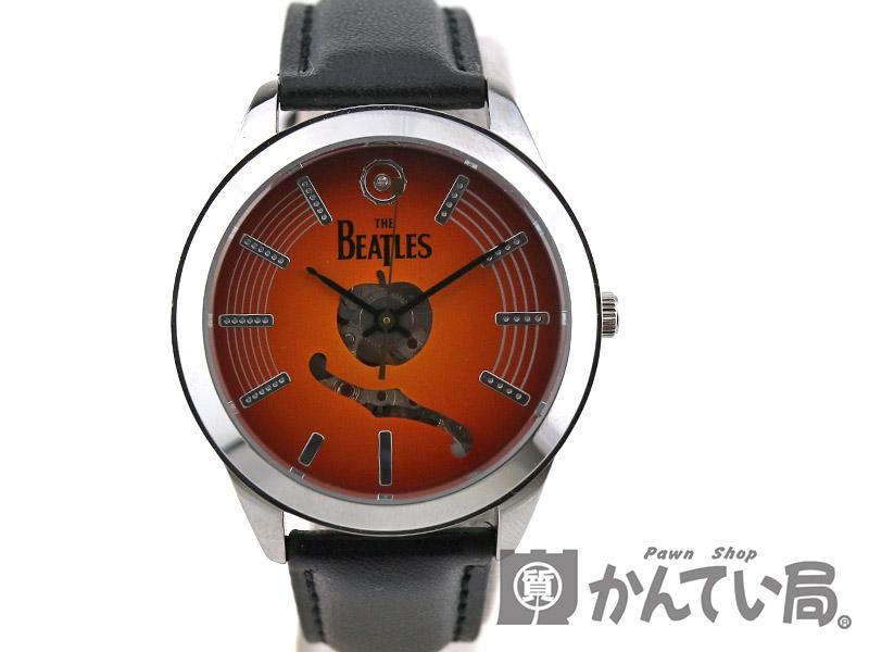THE BEATLES【ビートルズ】 オフィシャルウォッチ 1966本限定 50周年記念 腕時計 自動巻き 【中古】 USED-8  質屋かんてい局 c19-1026