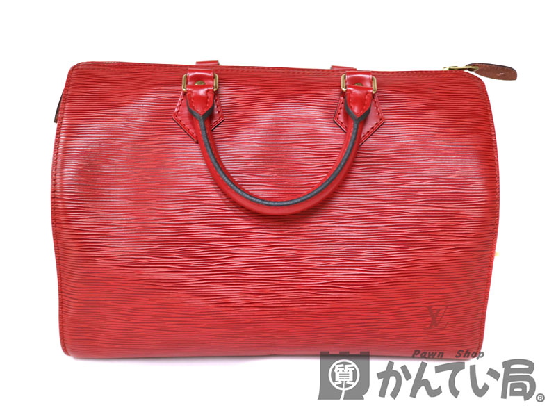 106e26df35 Image is loading LOUIS-VUITTON-M43007-Speedy-30-handbag-Epi-Leather-