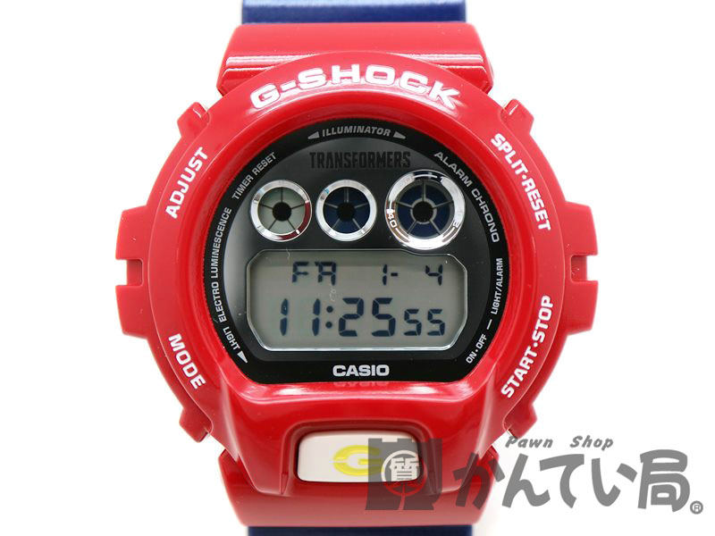 CASIO【カシオ】 DW-6900TF-SET G-SHOCK トランスフォーマー 腕時計 メンズ クオーツ フィギュア 限定 ロボット 【中古】 質屋 かんてい局茜部店 a18-10401 USED-8