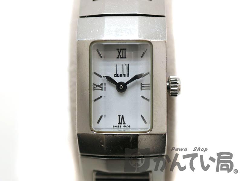 DUNHILL【ダンヒル】 8016 ダンヒリオン レディース クオーツ 腕時計 ブレスレット 【中古】 質屋 かんてい局茜部店 a18-10354 USED-6