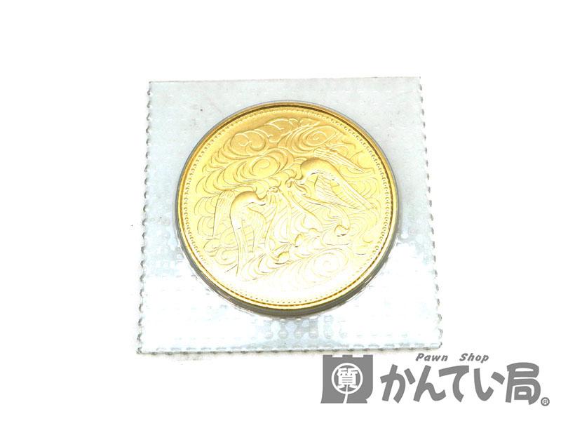 硬貨 御在位六十年10万円金貨 昭和61年 K24 金 ゴールド USED-8【中古】 a18-8540 質屋 かんてい局茜部店