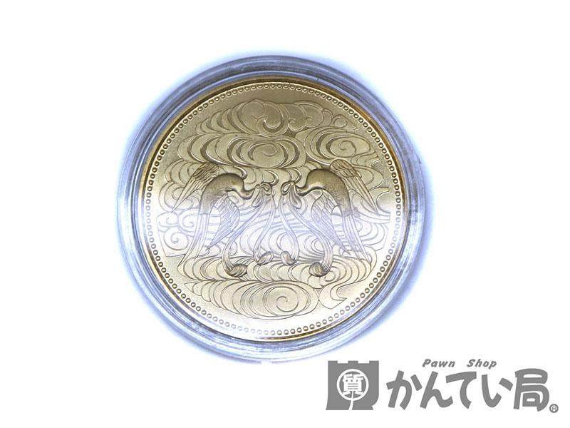 硬貨 K24 御在位60年記念 10万円金貨 金 ゴールド 純金 USED-8【中古】 a19-10330 質屋 かんてい局茜部店