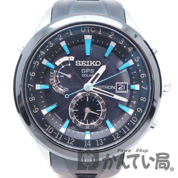 SEIKO【セイコー】 SBXA009 アストロン GPSソーラー メンズ 腕時計 ラバー SS 【中古】 質屋 かんてい局茜部店 a18-6888 USED-6