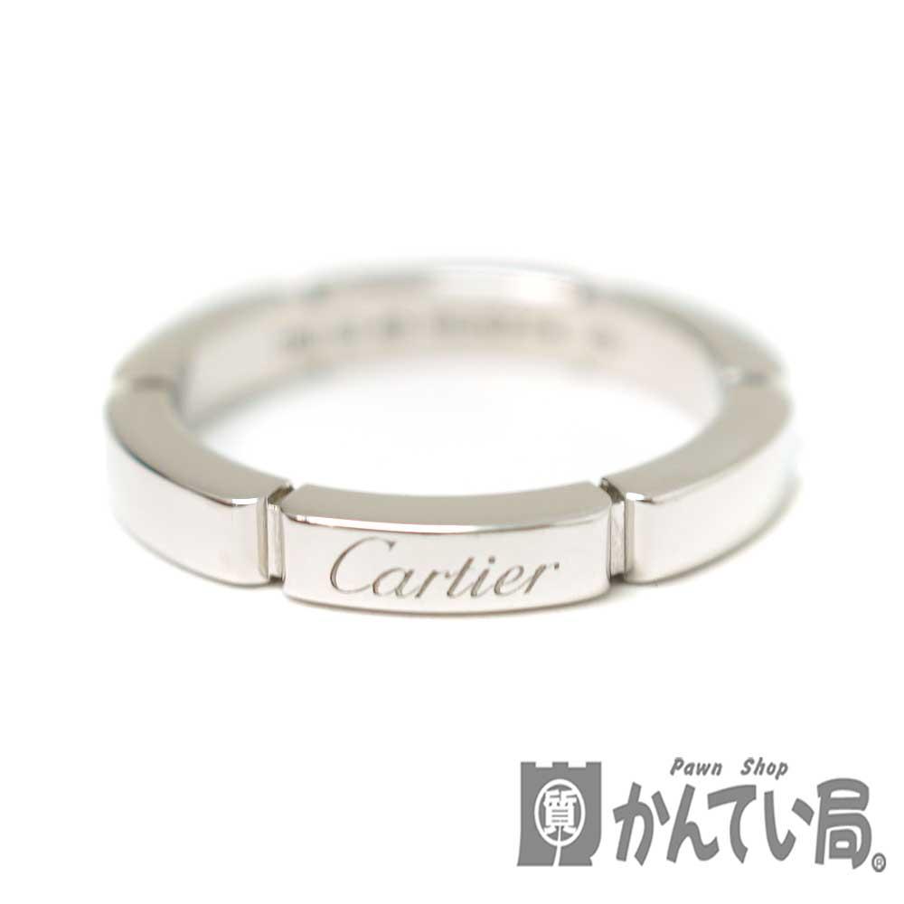 Cartier【カルティエ】マイヨンパンテールリング K18WG(ホワイトゴールド)指輪 シンプル アクセサリー ジュエリー 46(約6号)レディース【中古】 USED-9 質屋 かんてい局北名古屋店 n20-449