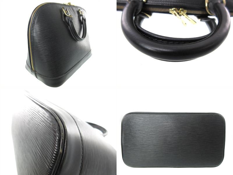 LOUIS VUITTON ルイヴィトン M52142 アルマ ハンドバッグ エピレザー ノワール ブラック系 ファッション ブランド レディース メンズ ユニセックスUSED AB 7 k19 4123 質屋 かんてい局春日井店HI29WEDY