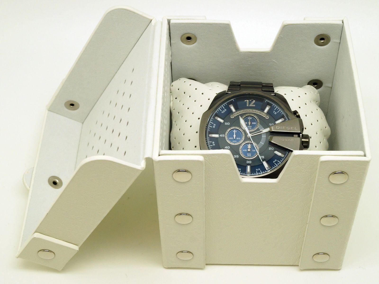 ディーゼルDIESEL メガチーフ 腕時計 DZ4329USED A F66 0625 かんてい局本社dBCxreoW