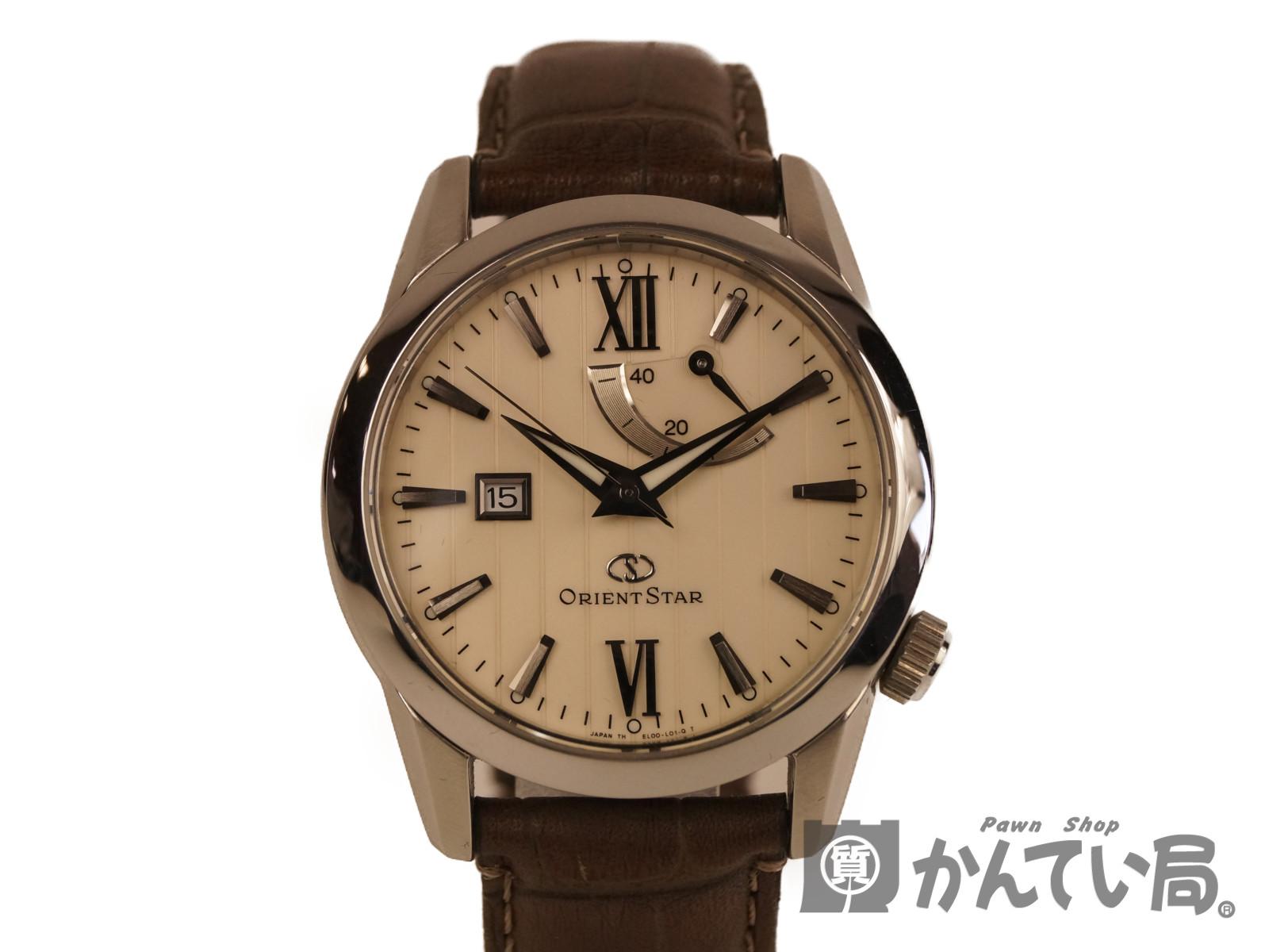 【ORIENT STAR】オリエントスター メンズ腕時計 WZ0361EL 自動巻き 【中古】F68-6251 USED-A かんてい局本社