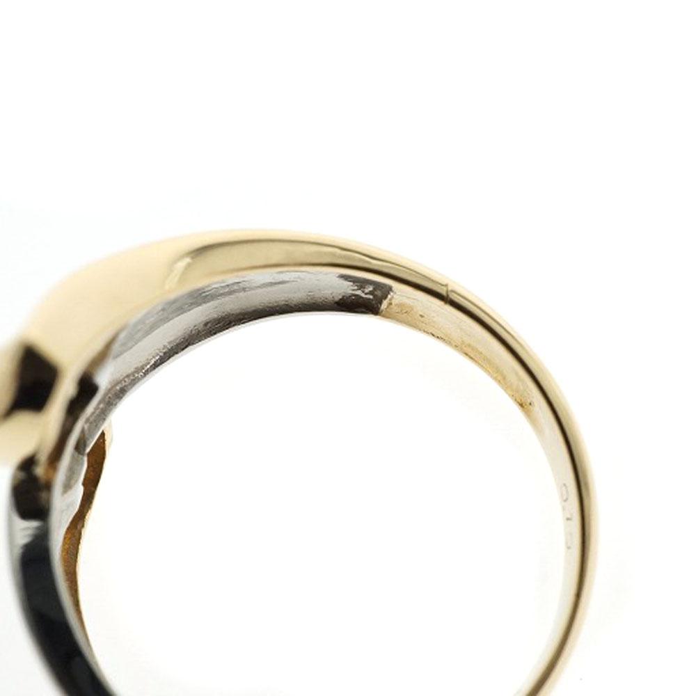 新品仕上げ済み K18 Pt900 ダイヤ付きリング コンビ プラチナ ゴールド 8号 レディース ジュエリーUSED 9 質屋 かんてい局細畑店 h20019978wOn0Pk