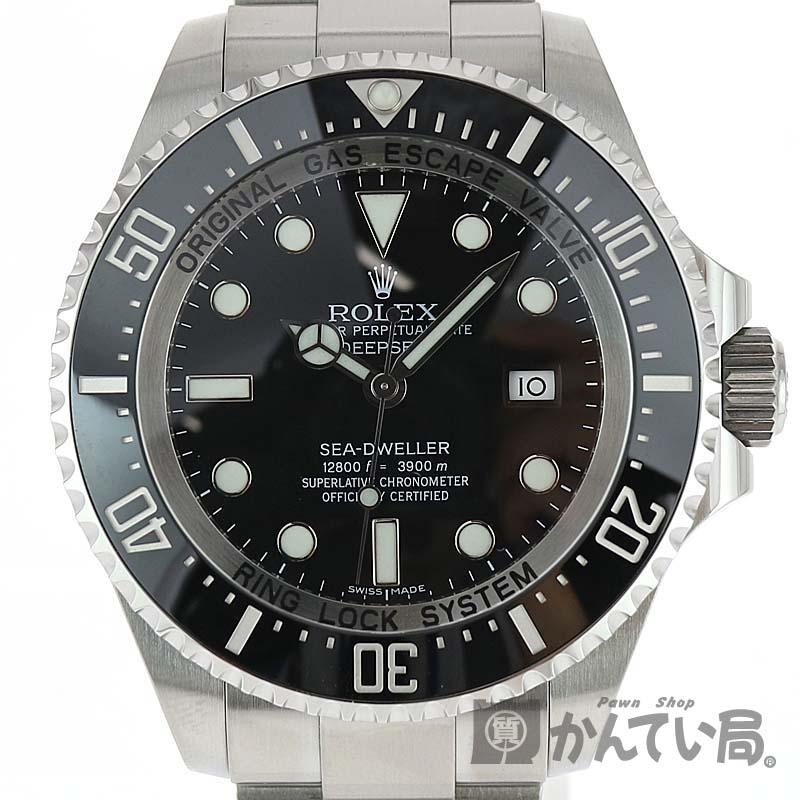 シードゥエラー 3,900m防水 c20-4265 調整 2017年購入 保証書 腕時計 ランダム品番 USED-9 ROLEX【ロレックス】 116660 仕上げ済み【中古】かんてい局小牧店 ダイバーズ ディープシー メンズ